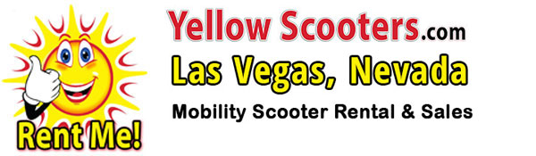 Las Vegas, Nevada – Yellow Scooters