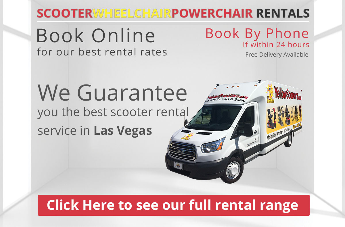 Las Vegas Nevada Yellow Scooters Mobility Rentals And Sales